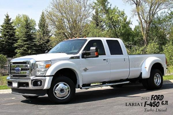 2012 Ford Super Duty F-450 DRW Lariat