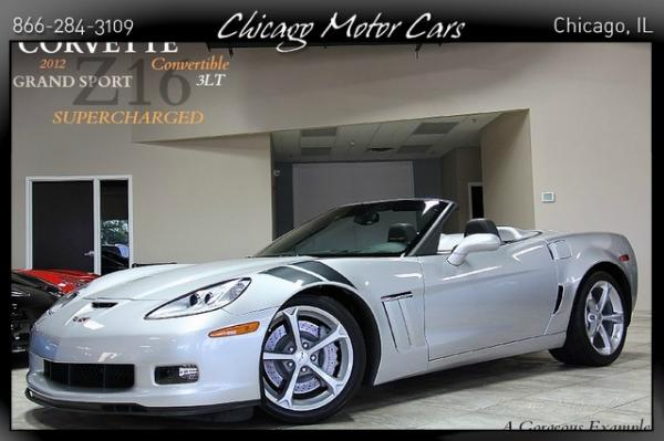 2012 Chevrolet Corvette Z16 Grand Sport w/3LT S