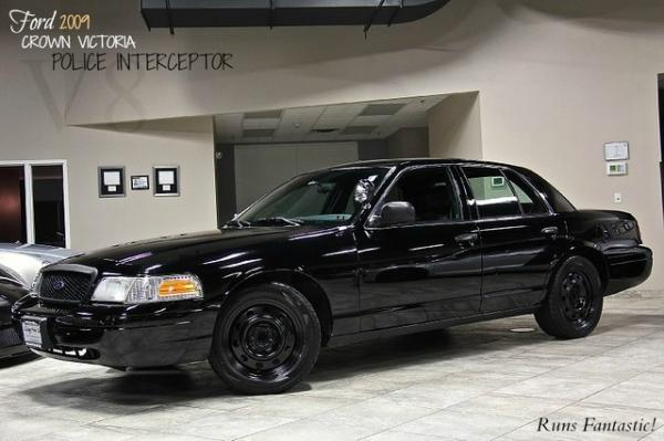 2009 Ford Crown Victoria Police Intercepto