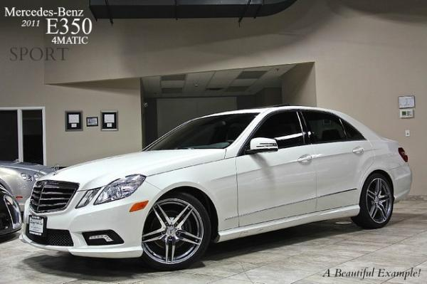 2011 Mercedes-Benz E350 Sport 4 Matic