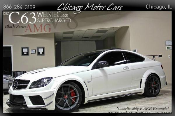 2012 Mercedes-Benz C63 AMG Black Series Weistec Sup