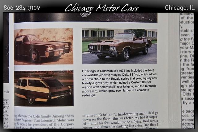 1971 Oldsmobile Cutlass - Chicago Motor Cars Inc --Official
