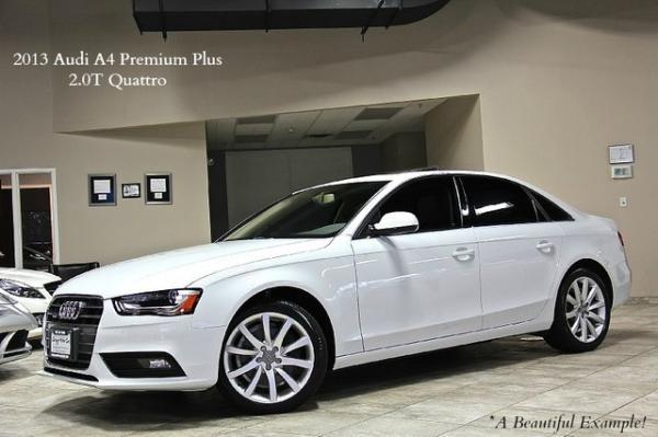 2013 Audi A4 Premium Plus 2.0T Quattro