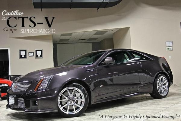2014 Cadillac CTS-V 6.2L SuperCharged Coupe