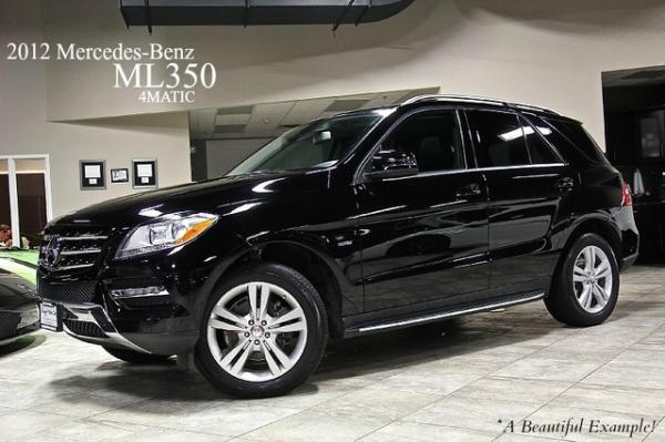 2012 Mercedes-Benz ML350 4 Matic