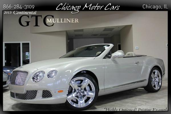 2013 Bentley Continental GTC Mulliner