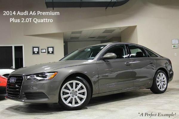 2014 Audi A6 Premium Plus 2.0T Quattro