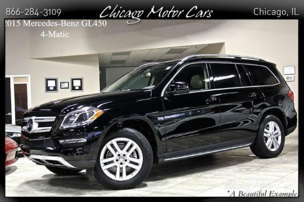 2015 Mercedes-Benz GL450 4 Matic