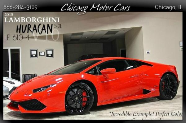 2015 Lamborghini Huracan Lp 610 4 Chicago Motor Cars Inc