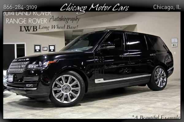 2014 Land Rover Range Rover Supercharged Autobio