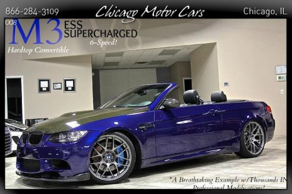 2008 BMW M3 ESS SuperCharged