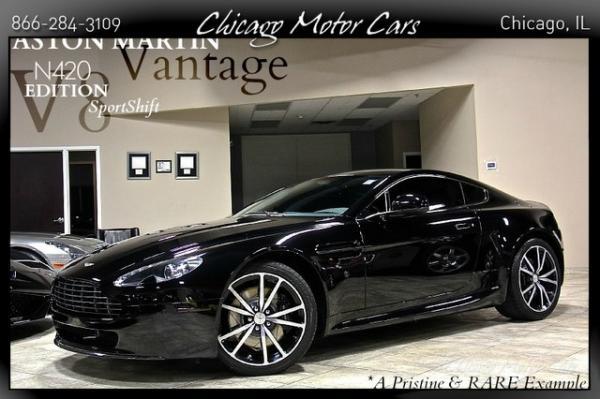 2011 Aston Martin V8 Vantage Sportshift N420 Editi