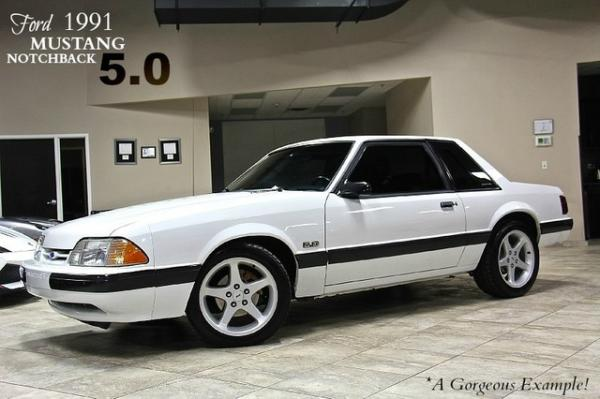 1991 Ford Mustang 5.0 Notchback