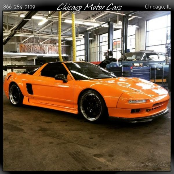 1996 Acura NSX -T Open Top