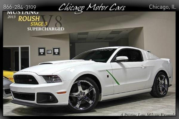 2013 Ford Mustang GT Stage 3 Roush Superch