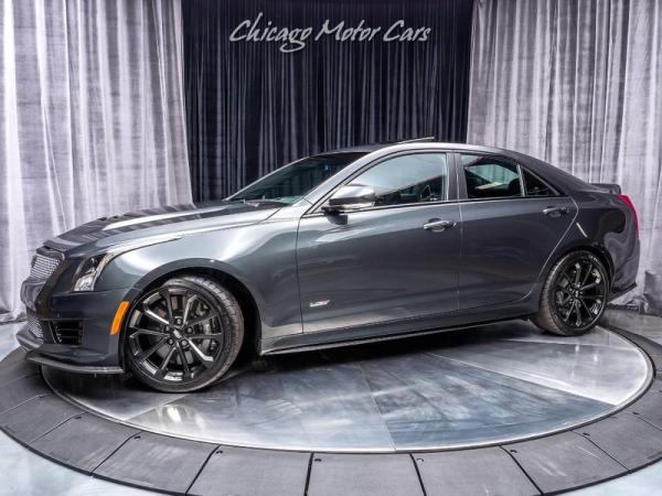 2017 Cadillac ATS-V 6-SPEED MANUAL