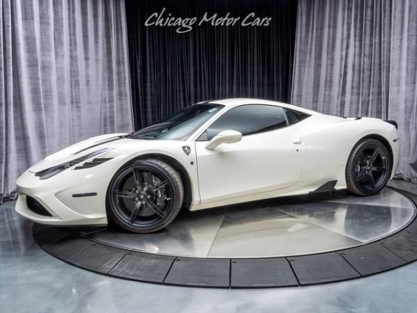2015 Ferrari 458 Italia **HUGE Original MSRP**