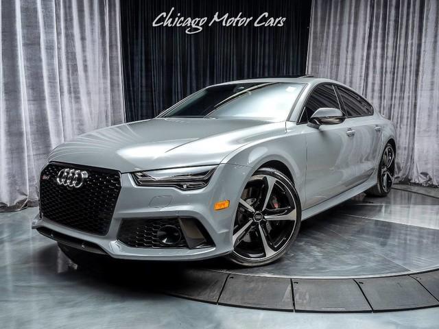 2016 Audi Rs7 Prestige Sedan Nardo Grey Chicago Motor Cars Inc