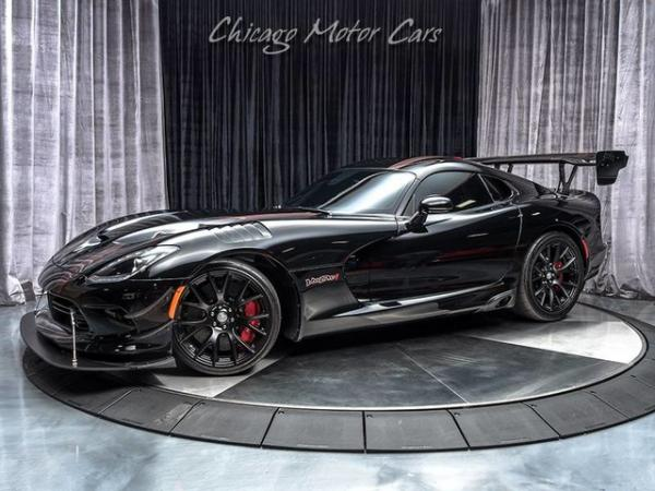 2017 Dodge Viper ACR Voodoo Edition
