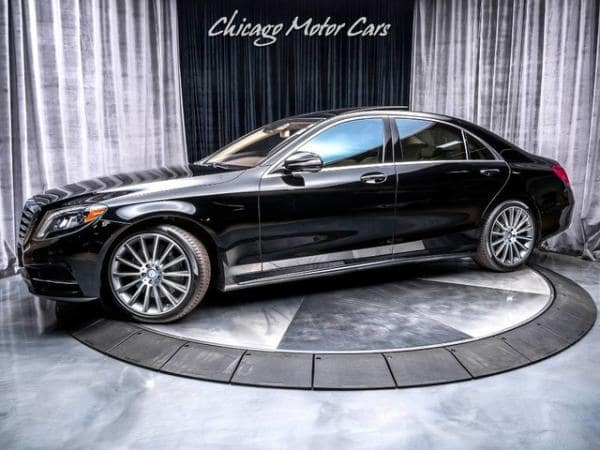 2014 Mercedes-Benz S550 4 Matic