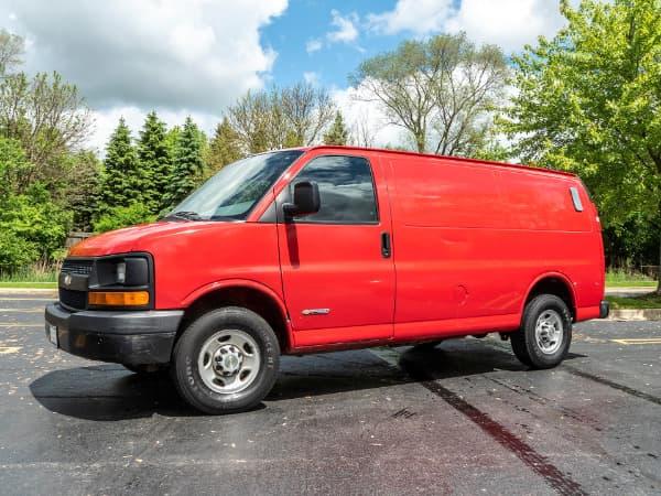 2006 Chevrolet Express Cargo Van