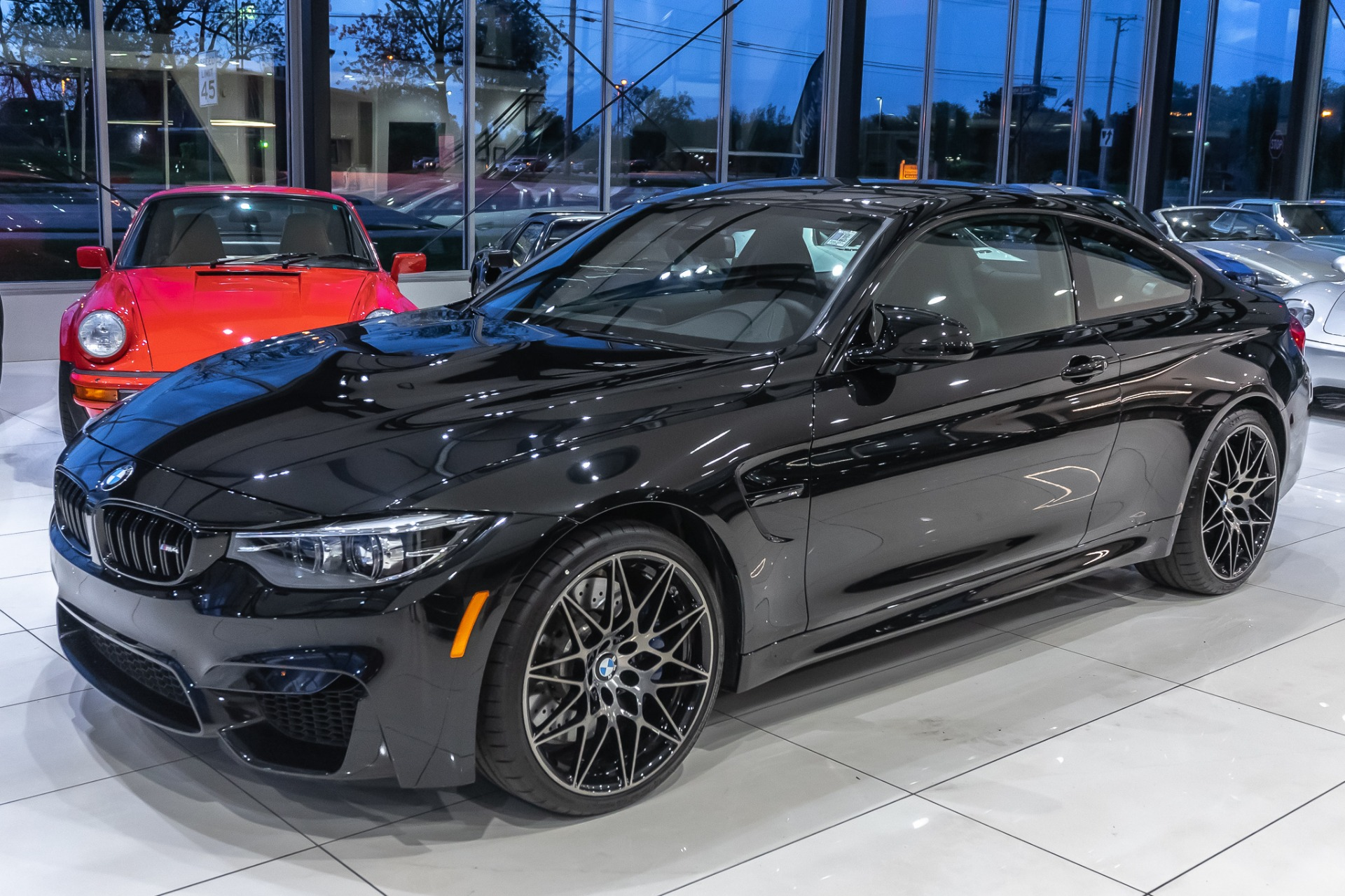 2019 Bmw M4 Competition Coupe Only 391 Miles Manual Transmission Chicago Motor Cars Inc Official Corporate Website For Chicago Motor Cars