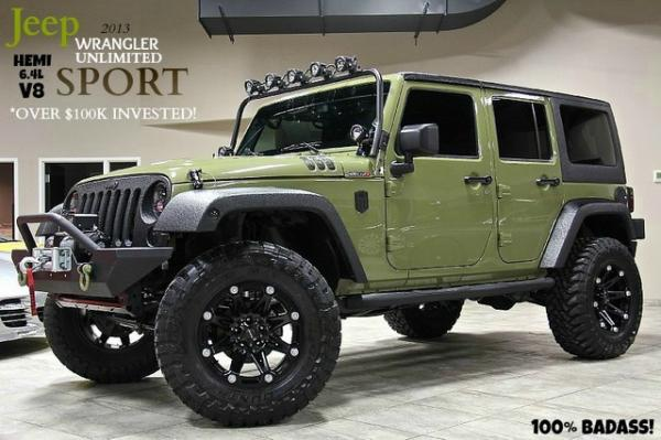 2013 Jeep Wrangler Unlimited 6.4L HEMI