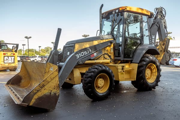 2010 John Deere 310 SJ Backhoe Loader