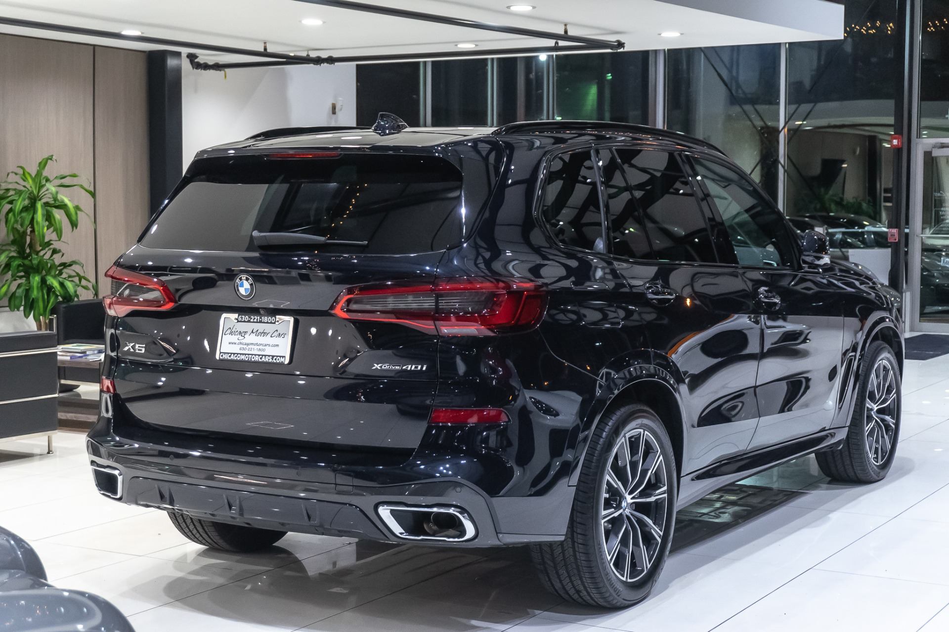 2019 Bmw X5 Xdrive40i Suv M Sport Premium 2 Package Park Assist Chicago Motor Cars Inc Official Corporate Website For Chicago Motor Cars
