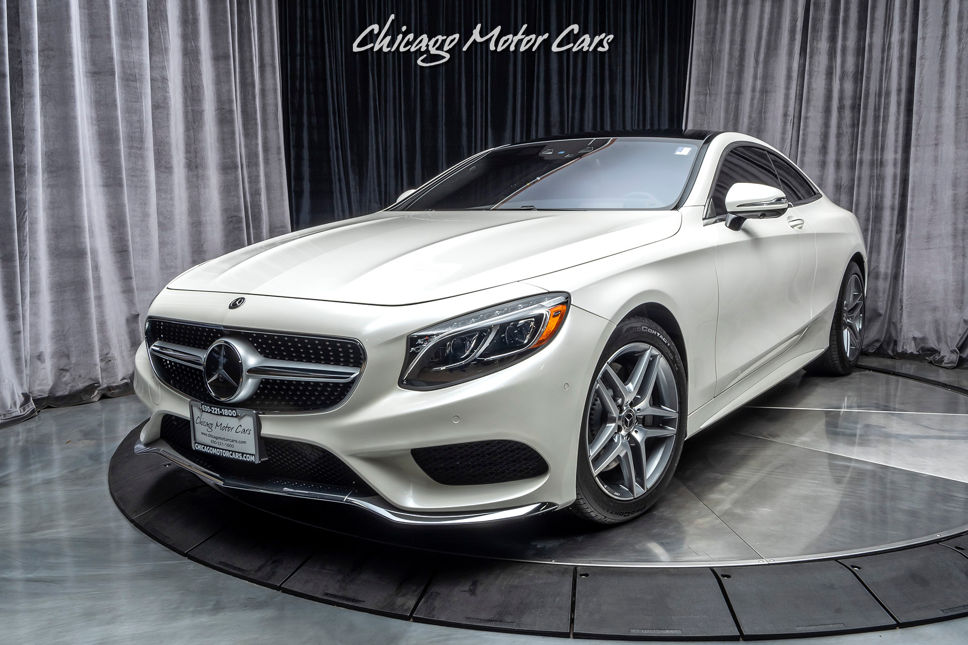 2017 Mercedes Benz S550 4 Matic Coupe Sport Package Chicago Motor Cars Inc Official Corporate Website For Chicago Motor Cars