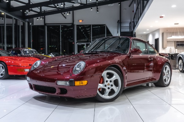 1997 Porsche 993 3.8L Twin Plug Turbo Coupe