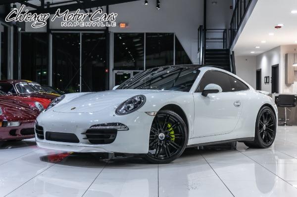 2014 Porsche 911 CARRERA 4 COUPE