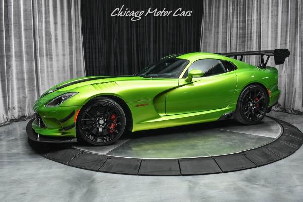 2017 Dodge Viper ACR Snake Skin Edition