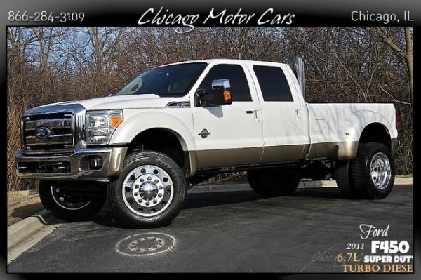2011 Ford Super Duty F-450 6.7L Turbo Dies