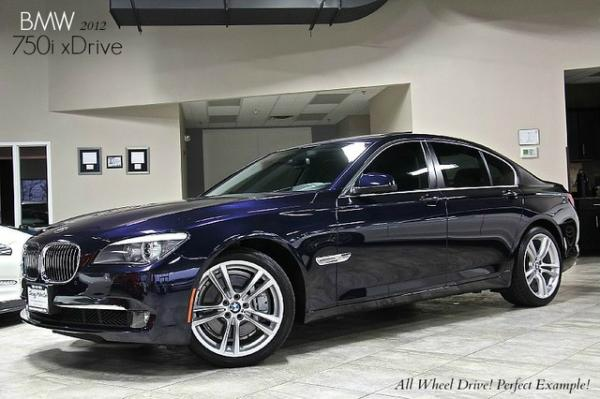 2012 BMW 750i xDrive AWD